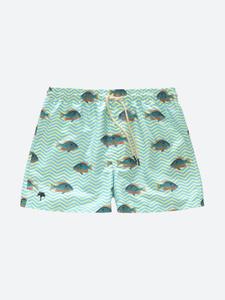 Blue Fish Swim Shorts