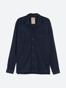 Navy Terry Camisa
