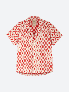 White Machu Terry Shirt