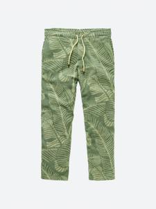 Banana Leaf Terry Long Pant