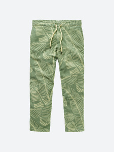 Banana Leaf Terry Long Pant